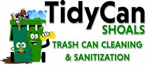 TidyCan Shoals Trash Can Cleaning and Sanitization